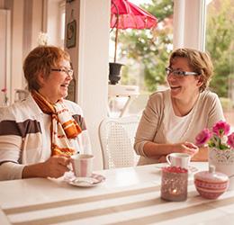 Begleitservice für Senioren und Frauen, die gerne mehr unternehmen möchten.