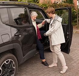 mobil & mittendrin richtet sich vornehmlich an Senioren und Frauen